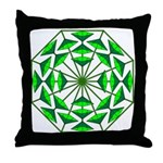 Eclectic Flower 368 Throw Pillow