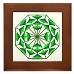 Eclectic Flower 368 Framed Tile