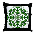 Eclectic Flower 369 Throw Pillow