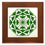 Eclectic Flower 369 Framed Tile
