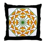 Eclectic Flower 370 Throw Pillow