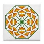 Eclectic Flower 370 Tile Coaster
