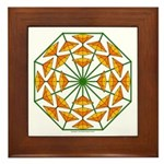 Eclectic Flower 370 Framed Tile