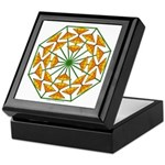 Eclectic Flower 370 Keepsake Box