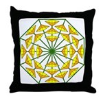 Eclectic Flower 371 Throw Pillow