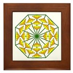 Eclectic Flower 371 Framed Tile