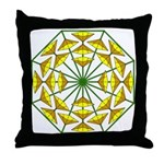 Eclectic Flower 372 Throw Pillow