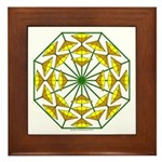 Eclectic Flower 372 Framed Tile