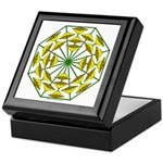 Eclectic Flower 373 Keepsake Box