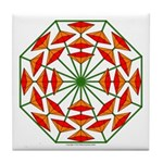 Eclectic Flower 374 Tile Coaster