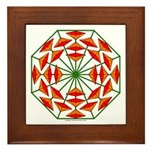 Eclectic Flower 374 Framed Tile