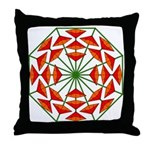 Eclectic Flower 375 Throw Pillow