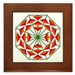 Eclectic Flower 375 Framed Tile