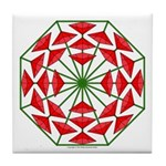 Eclectic Flower 376 Tile Coaster