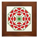 Eclectic Flower 376 Framed Tile