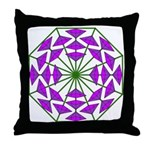 Eclectic Flower 377 Throw Pillow