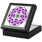 Eclectic Flower 377 Keepsake Box
