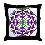 Eclectic Flower 378 Throw Pillow