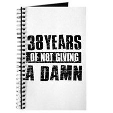 38 years of not giving a damn Journal
