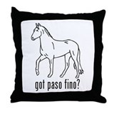 Paso Fino Throw Pillow
