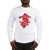New Jersey Only the Strong Survive Long Sleeve T-S