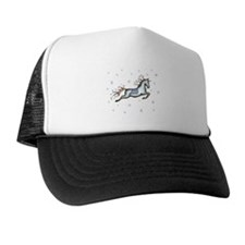 Starry Sky Horse Trucker Hat