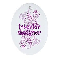 Interior Designer Ornament (Oval)