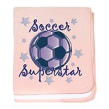 Soccer Superstar Infant Blanket