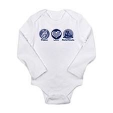 Unique Rollerblading Long Sleeve Infant Bodysuit