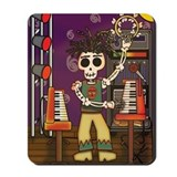 Day of the Dead Musician Mousepad