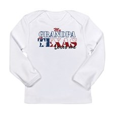 My Grandpa in TX Long Sleeve Infant T-Shirt