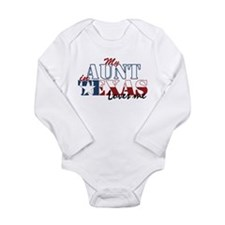 My Aunt in TX Long Sleeve Infant Bodysuit