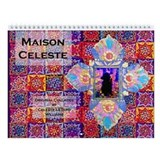 Maison Celeste Collage Wall Calendar