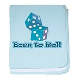 Born to roll Infant Blanket