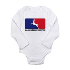 Major League Hunting Long Sleeve Infant Bodysuit