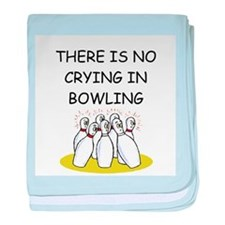 bowling gifts Infant Blanket