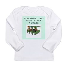 horse racing gifts t-shirts Long Sleeve Infant T-S