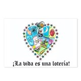 Loteria Heart Postcards