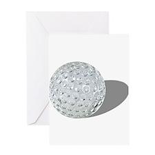 Golf Crystal Ball Greeting Card