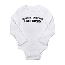 Huntington Beach Long Sleeve Infant Bodysuit