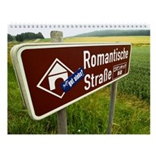 Romantic Road Wall Calendar