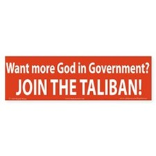 Taliban Bumper Bumper Sticker