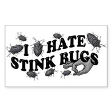 I hate stink bugs Decal
