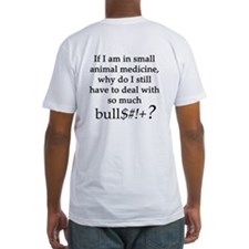 Small Animal Medicine Bull**** Shirt