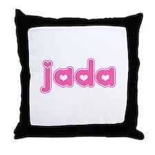 """""""Jada"""" Throw Pillow"""