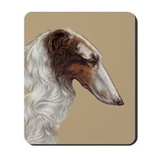 Borzoi Head Study Mousepad