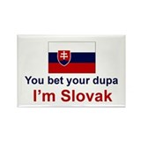 Slovak Dupa Rectangle Magnet (10 pack)