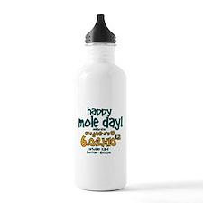 Happy Mole Day ! Water Bottle