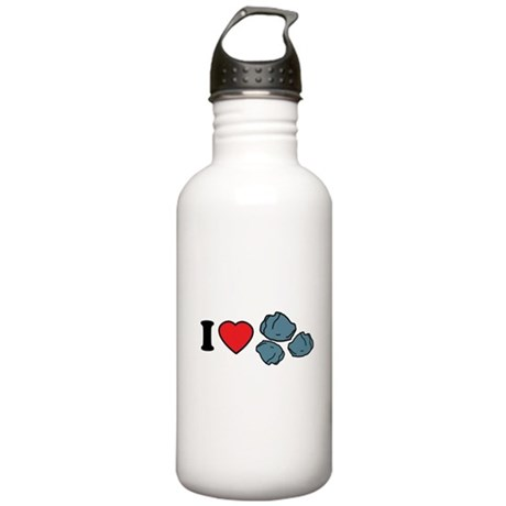 I Love Rocks Stainless Water Bottle 1.0L