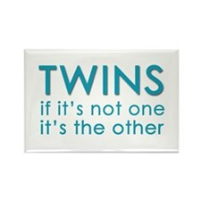 Twins - if it's not one, it's Rectangle Magnet